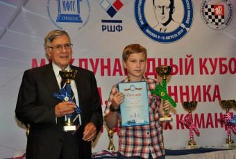 Тверской шахматист Алексей Гешко стал призером Кубка Михаила Ботвинника