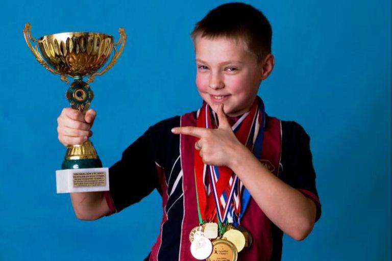 Успех ребёнка, победитель соревнования