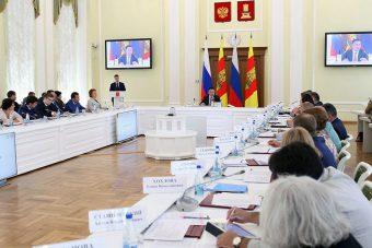 В этом зале заседает правительство Тверской области