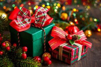 новогодние подарки новый год
