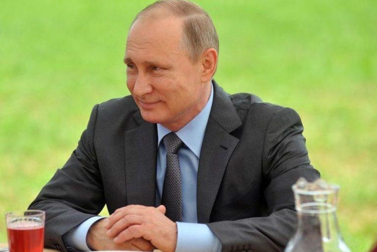 Владимир Путин в Тверской области