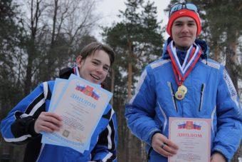 Глеб Бауков (с медалью)