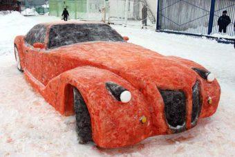 Снежные фигуры1