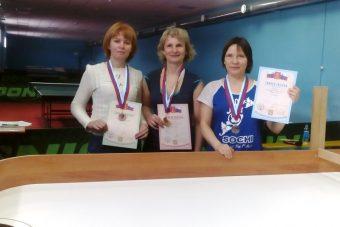 Призеры первенства Тверской области по настольному теннису