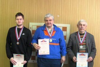 Призеры чемпионата Тверской области по шахматам