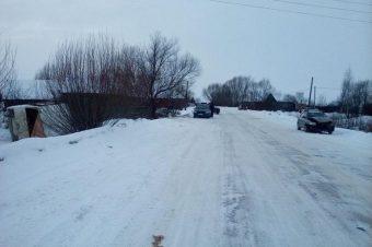 В Бежецком районе при столкновении трех машин пострадала женщина