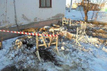 «Тверь Водоканал» заменил участок бесхозного водопровода по улице Лермонтова
