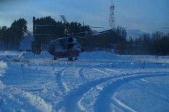 санитарный вертолет КА-32А