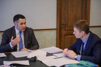 Игорь Руденя и Иван Егоров
