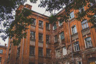 морозовские казармы, двор пролетарки