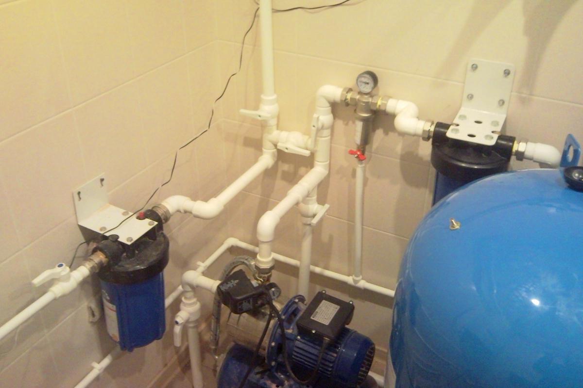 Фильтры для воды на даче и в коттедже в Тверской области