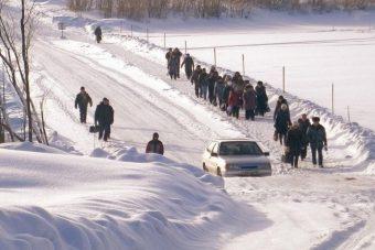 Для жителей ЗАТО Солнечный построят ледовую переправу