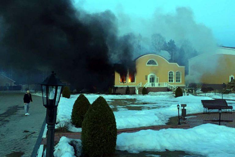 пожар в зоопарке