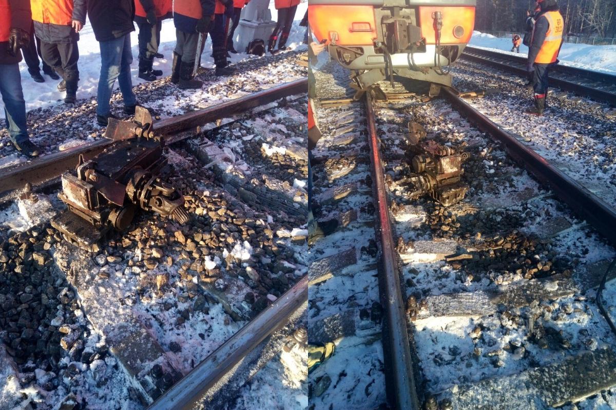 В Тверской области с рельсов сошел поезд