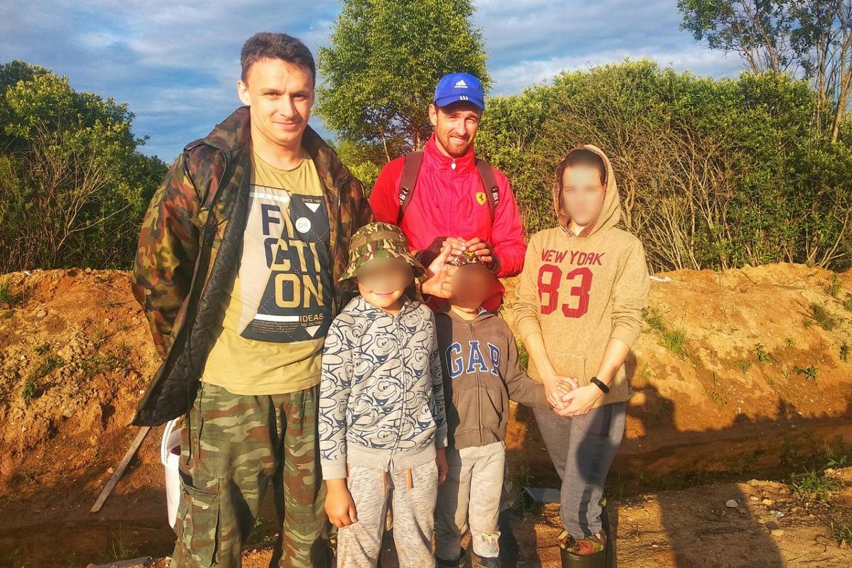 В Кимрском районе спасли заблудившихся в лесу мужчину с двумя детьми
