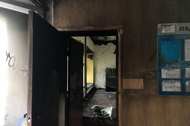 В Маловасилевской школе искусств пожар уничтожил концертный зал