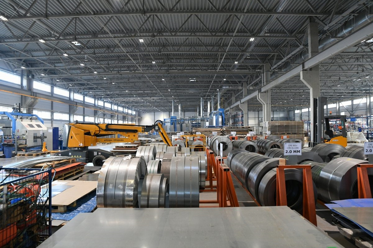 В Твери открыто новое высокотехнологичное производство в сфере обработки металлов