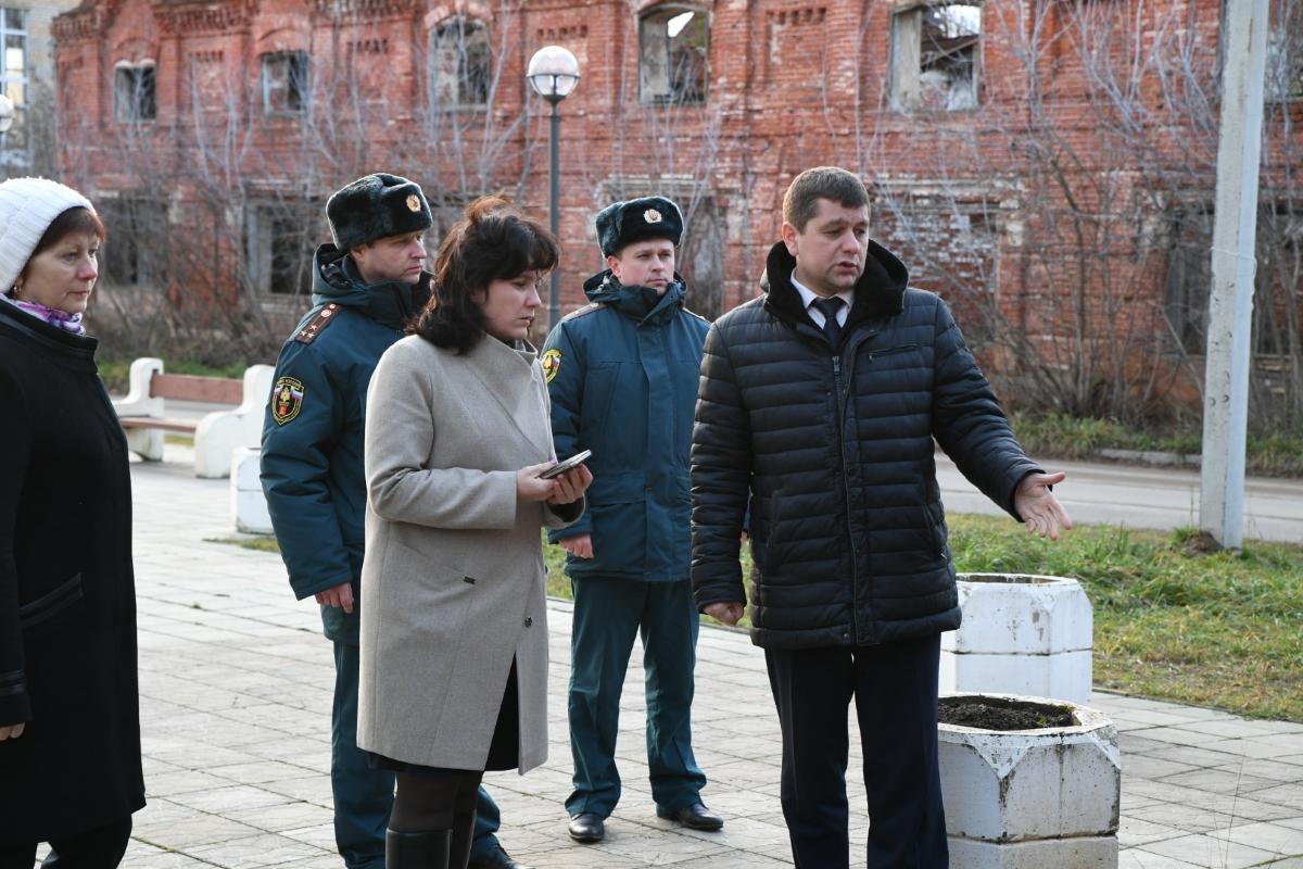 По поручению губернатора, для восстановления Гостиного двора в Кимрах ищут инвесторов
