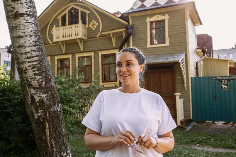 Юлия Саранова вернулась в Кимры с новым масштабным проектом